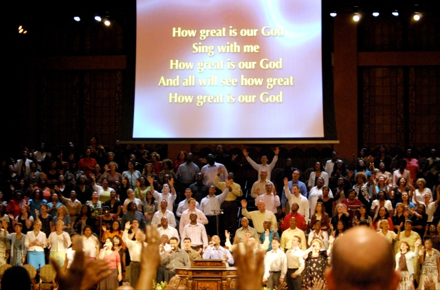 """How Great Is Our God"" At The Brooklyn Tabernacle"
