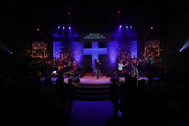Leading worship in Indianapolis, IN