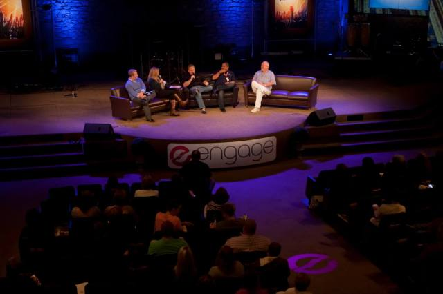 Leading A Panel Discussion on Worship at Engage, Our Worship Conference