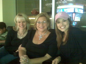 Kim With Sandi Patty & Miss America 2009 Katie Stam