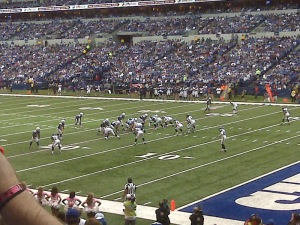 "Colts vs Seahawks - From Our ""Sometimes"" Seats"