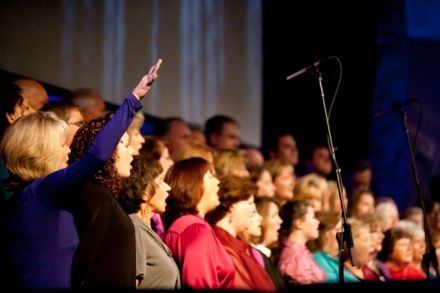 The MPCC Worship Choir In Action :: October 2010