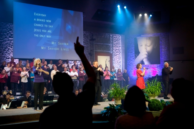 Leading Worship at Mount Pleasant Christian Church - Greenwood, IN - Our Home Congregation
