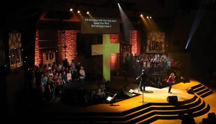 Kim Tabor and the MPCC Worship Choir